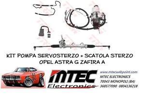 Set Pumpe Servolenkung + Lenkgetriebe Opel Astra G Zafira A