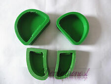 GREEN 4pcs/1Set Dental Lab Plaster Model Base Molds