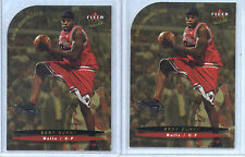 2003-04 Ultra Gold  Medallion Eddy Curry Chicago Bulls #21  (2 Cards)
