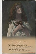 POSTCARD  SONG CARDS  Jesu My Lord (3)