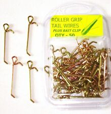 50 TAIL WIRES WITH BAIT CLIP, FOR BOTH SIZES OF UPTIDE MOULDS