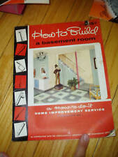 Johns-Manville Home Idea Book Asbestos Products Catalog