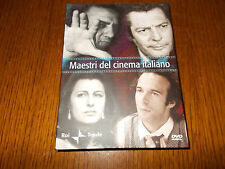 box 4 dvd MAESTRI DEL CINEMA ITALIANO FELLINI BENIGNI MASTROIANNI ANNA MAGNANI