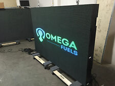3x6 OUTDOOR FULL COLOR LED PROGRAMMABLE EMC SIGN 3FT x 6FT UHD 10P 10mm w/ WiFi