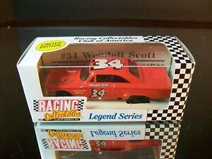 Wendell Scott #34 1963 Ford Fastback RCCA 1:64