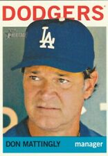"""DON MATTINGLY """"""""MANAGER"""""""" 2013 TOPPS HERITAGE #101 ****FREE SHIPPING****"""