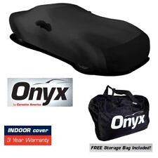 C5 CORVETTE ONYX BLACK SATIN CAR INDOOR COVER STRETCH FITS ALL 97-04 CORVETTES