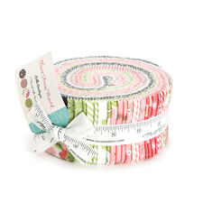 "Moda FABRIC Jelly Roll ~ OLIVE'S FLOWER MARKET ~ by Lella Boutique   2.5"" strips"