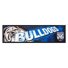 NRL Bar Runner - Canterbury Bulldogs - Bar Mat - Rugby League - BNWT