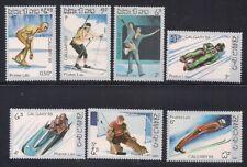 Laos   1987   Sc # 758-64   Olympics   MNH   (1-475)