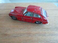 Rare Vintage Corgi Toys MGB GT Rouge 1:43 À L'Échelle Miniature