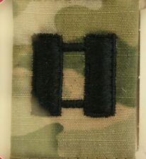 Us Army Gi Multicam Ocp O-3 Cpt Camouflage Camo Uniform Parka Tab Rank Insignia