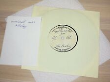 "THE BEATLES 8"" ACETATE SINGLE - WHAT'S THE NEW MARY JANE / EMIDISC PRESS in VG+"