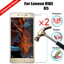 2X Gorilla HD Tempered Glass Film Screen Protector For Lenovo K6 Note / K3 A6000