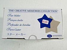Scrapbook Star Maker- Paper Puncher- The Creative Memories Collection