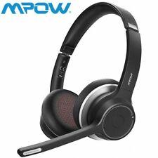 MPOW HC5 Bluetooth5.0 PC Smartphone Headset Kopfhörer Stereo Mikrofon Headphone