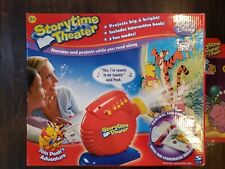 Spin Master DISNEY NICKELODEON STORYTIME THEATER Projector W Extra Cartridge