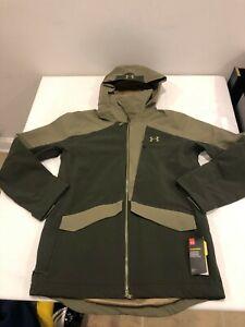 NWT $250.00 Under Armour Mens CG Storm Boundless Ski Jacket Green LARGE