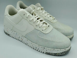 Nike Air Force 1 Crater Summit White Sneakers Shoes CZ1524-100 Size 15