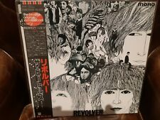 "Lp japan obi Beatles, ""Revolver"", Red Wax, Mono. Vinilo NMint,  Carpeta NMint"