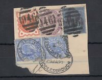 GB QV/KEVII Collection of 5 On Piece J2445