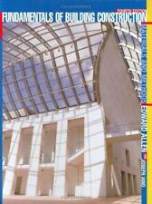 Fundamentals of Building Construction: Materials and Methods by Allen, Edward,