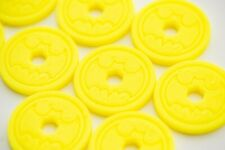 Batbot Xtreme Replacement Discs YELLOW (pack of 10) Fisher Price Imaginext