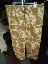 New British desert Camo wet weather pants, size 80/88/104, similiar to X- large