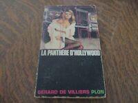 SAS la panthere d'hollywood - GERARD DE VILLIERS