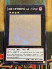 Yugioh Dark Rebellion XYZ Dragon NECH-EN053 Ghost Rare 1st Edition NM