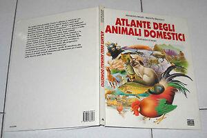 ATLANTE DEGLI ANIMALI DOMESTICI illustrazioni SERGIO Alessandro Minelli Mannucci