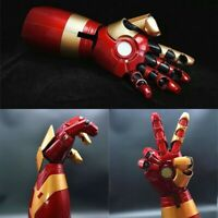Marvel Iron Man MK42 Arm Right 1/1 LED Armor Hand Wearable Blaster Gauntlet Prop
