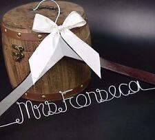Wedding Shower Gift Personalized Wedding Hanger Bridal Bridesmaid Hanger, font B