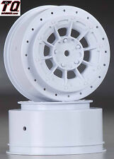 NEW JConcepts Hazard Losi SCT-E Wheel White (2) JCO3352W NIB  Fast ship + track#