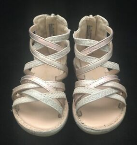 Cat and Jack Toddler Girls Taylor Classic Gladiator Sandals Size 5