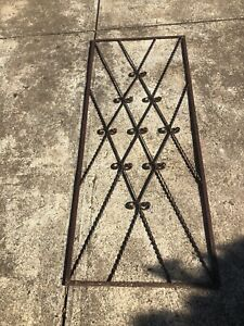 Metal outdoor garden frame