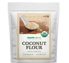 Organic Coconut Flour,High in Fiber & Protein,No Gluten,4Lb