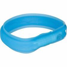 Trixie Collier Chien Bande de Lumière Éclair À alimentation USB M-l 50 cm Bleu