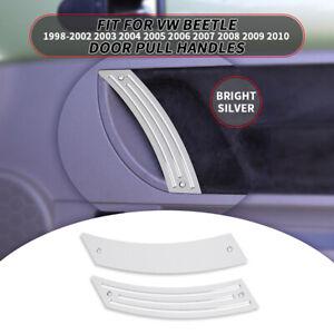 Pair Interior Door Handle Panel for VW Beetle Bug 1998-2010 Repair Pull Handles