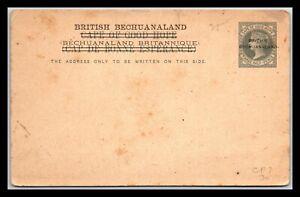 GP GOLDPATH: BECHUANALAND POSTAL CARD MINT _CV785_P01