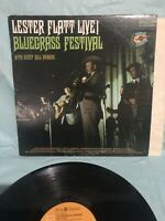 Lester Flatt – Live Bluegrass Festival -- VINTAGE VINYL LP