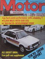 Motor magazine 7/11/1981 featuring Talbot Horizon road test, De Lorean, Ford