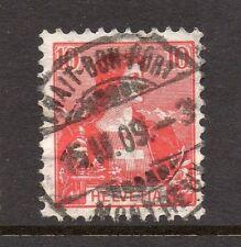 Switzerland Fine Postmark 1909 on 10c. 062071