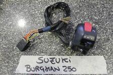 devio luci destro suzuki burgman 250/400 2004 Schalter switch