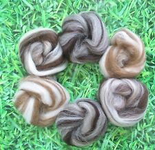 Needle Felting Blended Natural Collection Ideal for Animal Projects Felting Wool