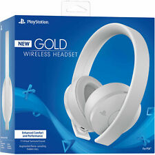 Sony PlayStation Gold Wireless Headset - White