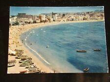 10.018 LAS PALMAS DE GRAN CANARIA GENERAL VIEW OF THE CANTERAS BEACH - POSTCARD