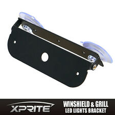 Xprite Adjustable Mount Bracket Holder for Windshield Deck Dash Strobe LED Light