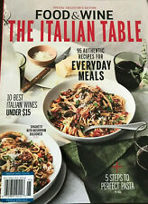 Food and Wine The Italian Table Magazine September 2019 ~ Wines ~ Pasta Free Shp