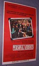 Original 1987 PERSONAL SERVICES Prostitute Movie Terry Jones Cynthia Payne Story